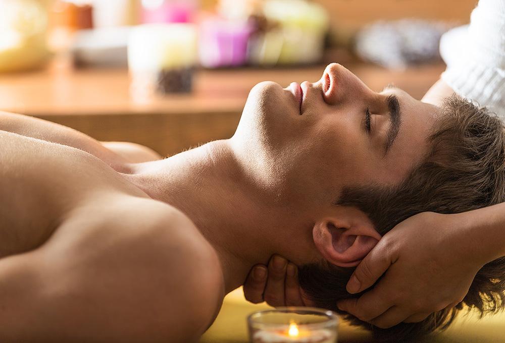 Indian head massage - μασάζ